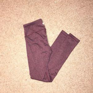 Women's xs purple leggings
